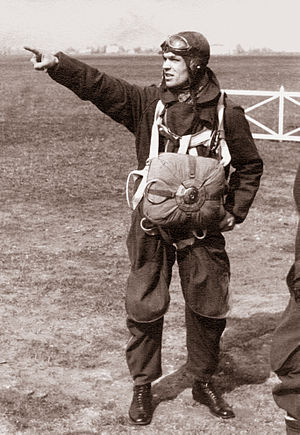 Romualdas Marcinkus - Marcinkus later became a paratrooper instructor in the Lithuanian Air Force