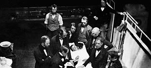 Edward Gilbert Abbott - The MGH Department of Anesthesia, Critical Care and Pain Medicine traces its roots back to the October 16, 1846 public demonstration of medical ether.