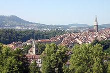 Άποψη της Βέρνης