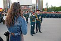 Rostov-on-Don 2014 Victory Day Parade Rehearsal, Military, Major general, Russia.jpg