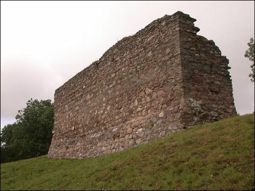 Rothes Castle Remains
