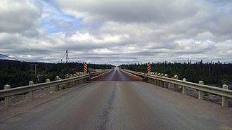 Trans-Labrador Highway - Bridge of route 500 over Churchill River