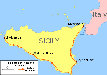 Route Punic army messana.svg