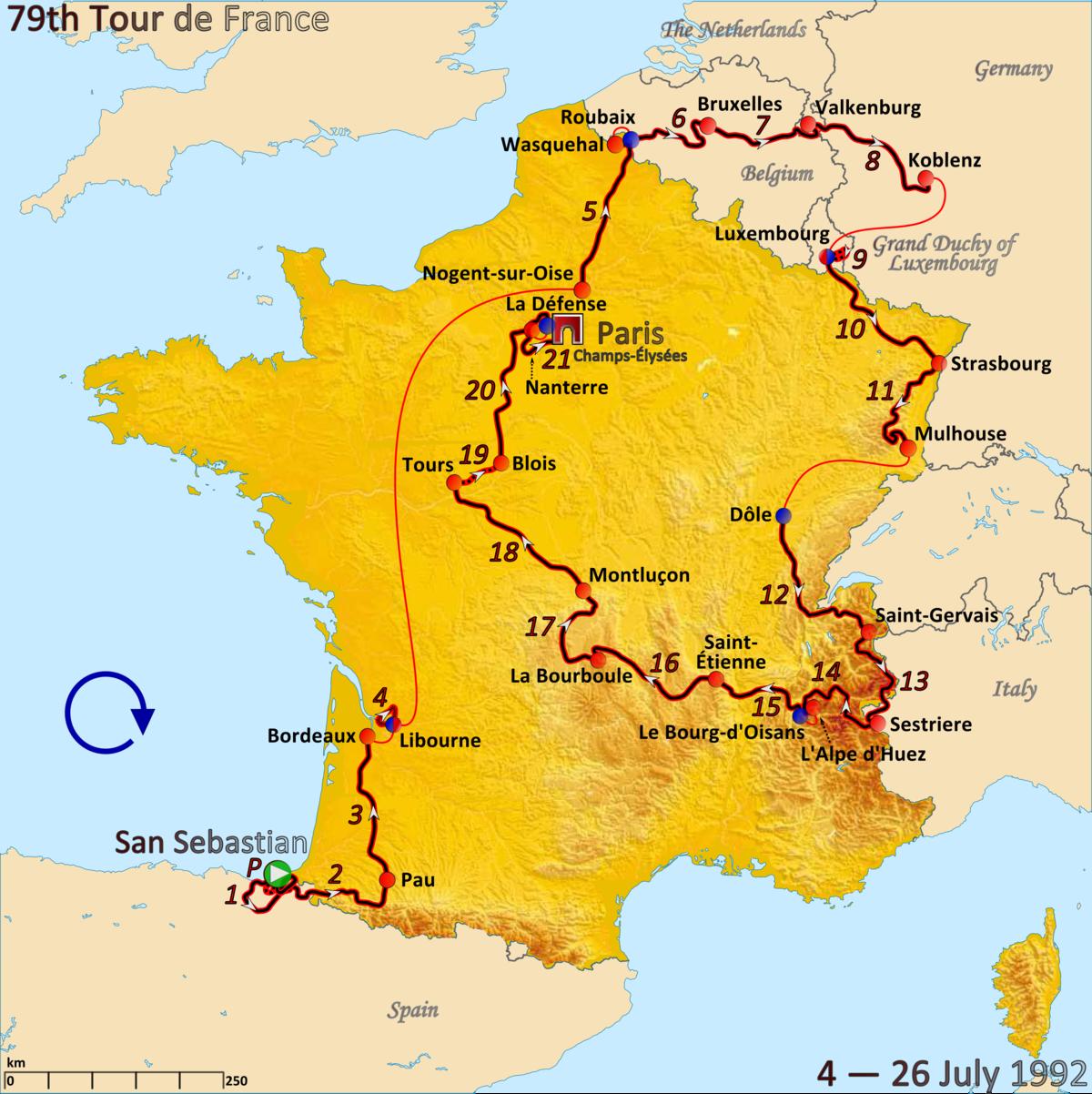 1992 Tour de France - Wikipedia