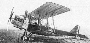Royal Aircraft Factory R.E.8 - A Siddeley-Deasy-built R.E.8