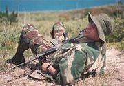 Royal Bermuda Regiment Soldier at Ferry Reach in 1994