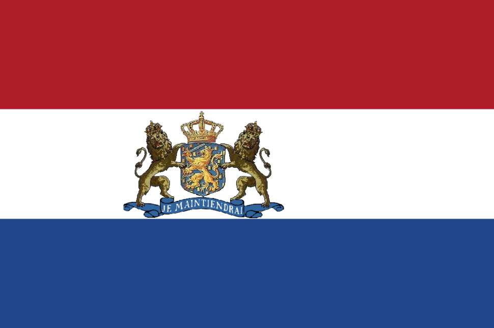 Royal Flag of the Netherlands until 1908