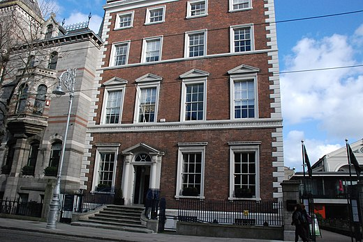 Academy House, headquarters of the Royal Irish Academy