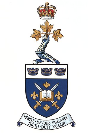 Royal Military College Saint-Jean - Image: Royal Military College Saint Jean Arms