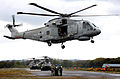 Royal Navy Merlin Helicopter with CHF MOD 45153926.jpg