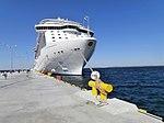 Royal Princess berthed at Pier 27 in Port of Tallinn 17 May 2014.jpg