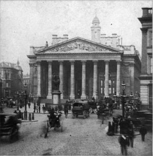William Tite - The Royal Exchange, c. 1855