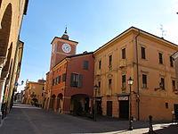 Rubiera, torre dell'orologio 01.JPG