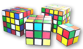 English: Rubik's Cube variations