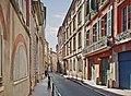 Rue Perchepinte vue de la place Mage à Toulouse.jpg
