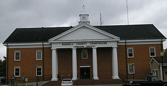 Jamestown, Kentucky - Russell County courthouse in Jamestown