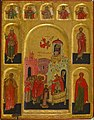 Russian - Presentation of the Virgin in the Temple and the Virgin of the Burning Bush - Walters 372664.jpg