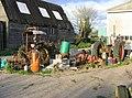Rusting tractors, Bergh Apton - geograph.org.uk - 160637.jpg