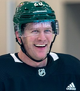 Ryan Suter at Minnesota Wild open practice at Tria Rink in St Paul, MN - 31850907827 (1).jpg