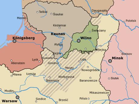 Литва по-английски, на английском языке (перевод)