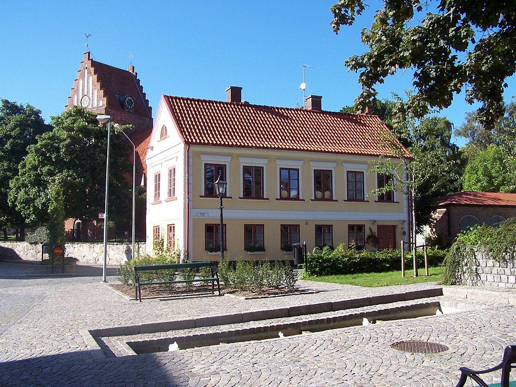 Sölvesborg Nicolaigården, discover Sölvesborg on a bike