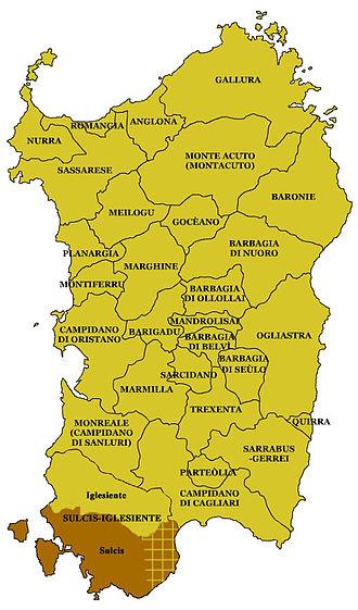 Sulcis - Sulcis in Sardinia