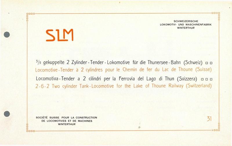 File:SBB Historic - 31 - 3 5 gekuppelte 2 Zylinder-Tender-Lokomotive für die Thunersee-Bahn.pdf