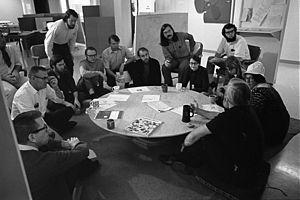 Hyperlink - Douglas Engelbart and his team at SRI, 1969
