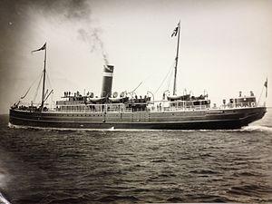 SS Rushen Castle - SS Duke of Cornwall.
