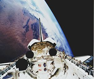 STS-45 - Image: STS 45 payload