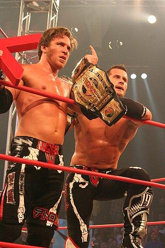 Genesis (2007) - Image: Sabin TNA Tag Champion