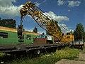 Saechsisches Eisenbahnmuseum - gravitat-OFF - alter Eisenbahnkran.jpg