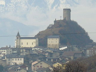 Saillon Castle
