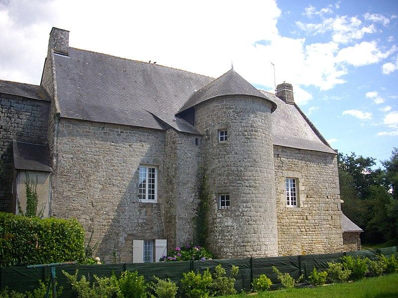 Coedigo-Malenfant manor in Saint-Avé (Morbihan, France)