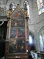 Saint-Bertrand-de-Comminges cathédrale tombeau St Bertrand peintures.JPG