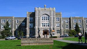 Saint Mary's University, main entrance