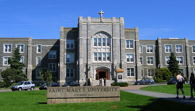 Saint Mary's University By Robert Alfers (Own work) [Public domain], via Wikimedia Commons