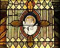 Saint Nicholas Catholic Church (Zanesville, Ohio) - stained glass, Angel of Matthew.jpg