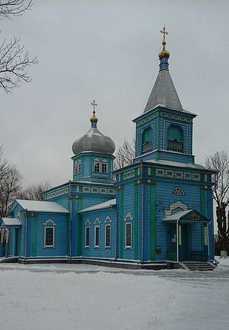 Dubrovytsia - Saint Nicholas Church
