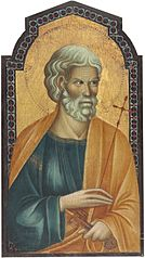 Saint Peter [left panel]