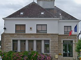 The town hall in Sainte-Hélène