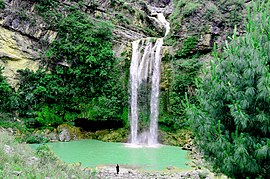 Sajikot Waterfall, Havelian.jpg