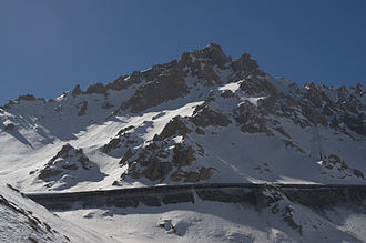 Salang Tunnel - The Salang Tunnel on 19 March 2010
