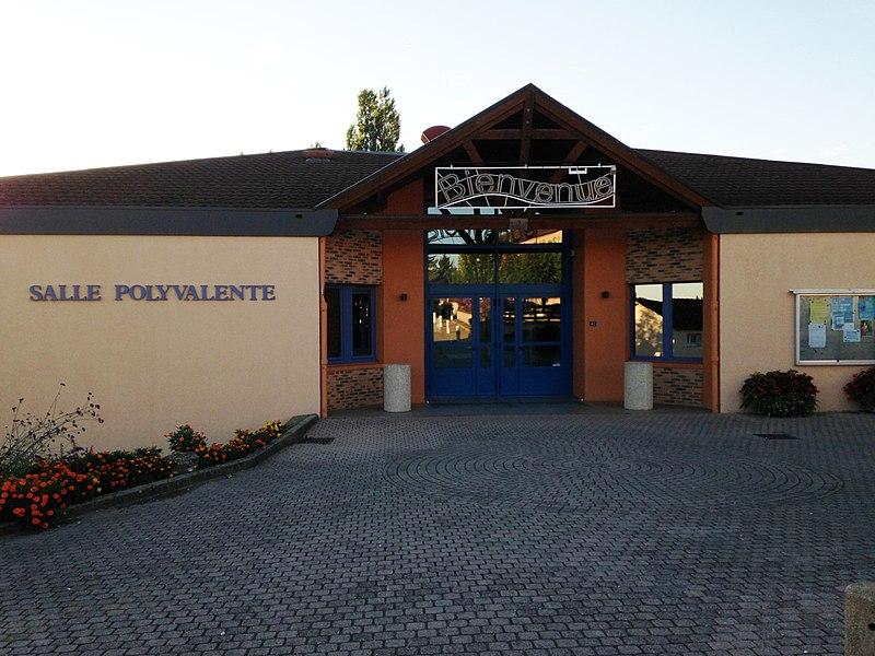 Salle polyvalente de Saint-Cyr-sur-Menthon
