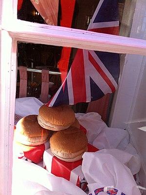 Sally Lunn bun - Image: Sally Lunn's famous bun
