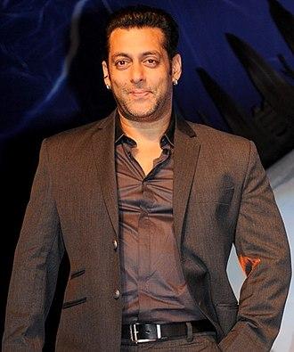 Salman Khan - Khan at the launch of Bigg Boss 6 in 2014