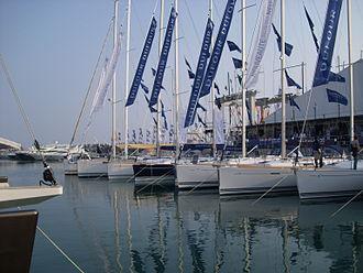 Genoa International Boat Show - sailing boats