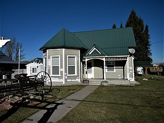 National Register of Historic Places listings in Bear Lake County, Idaho - Image: Sam Athay House NRHP 82004939 Bear Lake County, ID