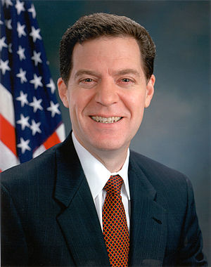 Sam Brownback official portrait