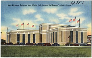 Sam Houston Coliseum Arena in Texas, United States